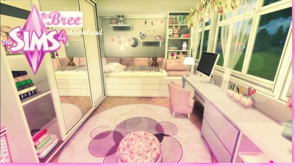 Pandashtproductions: Bree pink girls room by Rissy Rawr