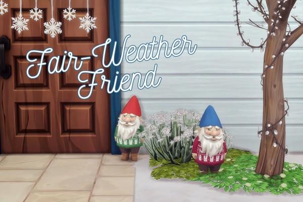 Hamburgercakes: Fair Weather Friend