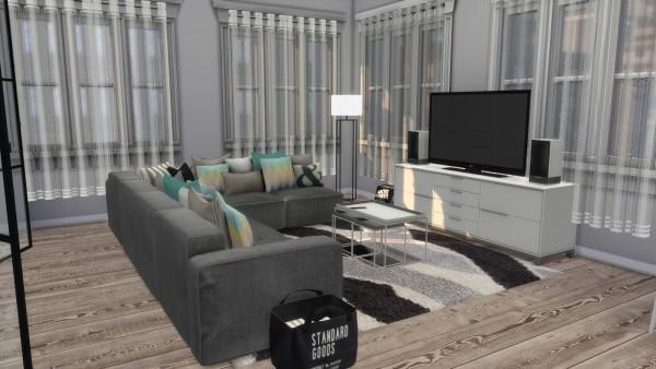 Dinha Gamer: Scandinavian Studio Apartment