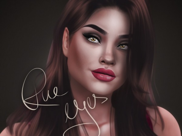 The Sims Resource: Rue Eyes by KatVerseCC