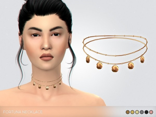 The Sims Resource: Fortuna Necklace by pixelette