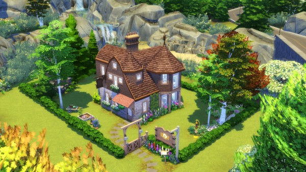 Mod The Sims: Old Vet Residence   No CC by Chaosking