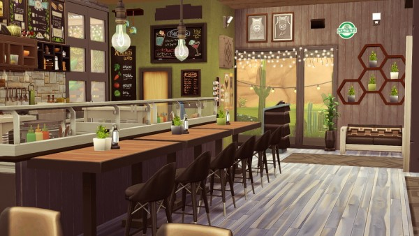 Jenba Sims: SolCaf cafe