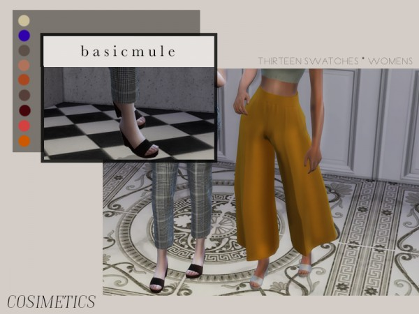 The Sims Resource: Basicmule pant by cosimetics