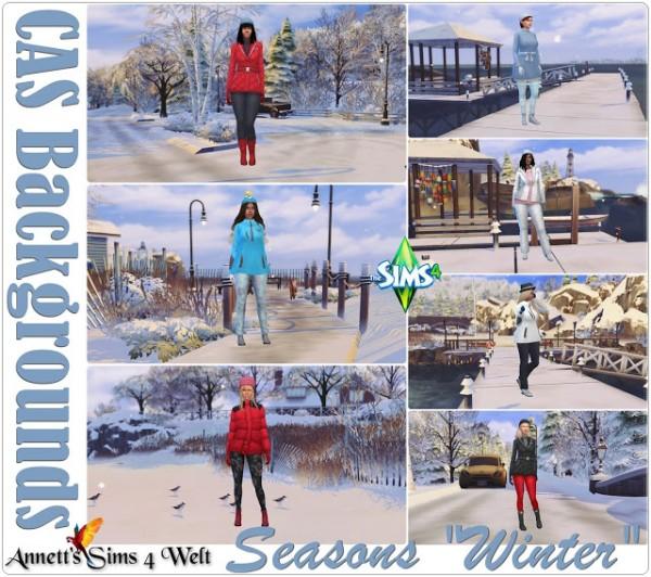 Annett`s Sims 4 Welt: CAS Backgrounds   Seasons Winter