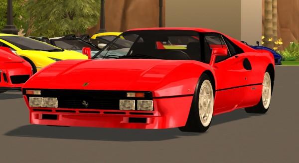 Tylerw Cars: 1984 Ferrari 288 GTO