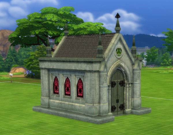 Mod The Sims: Mausoleum Remake by fire2icewitch