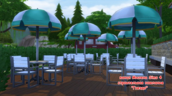 Sims 3 by Mulena: Bar Feast in the whole world