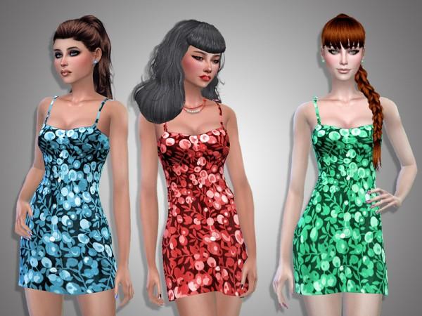 The Sims Resource: Irina dress by Simalicious