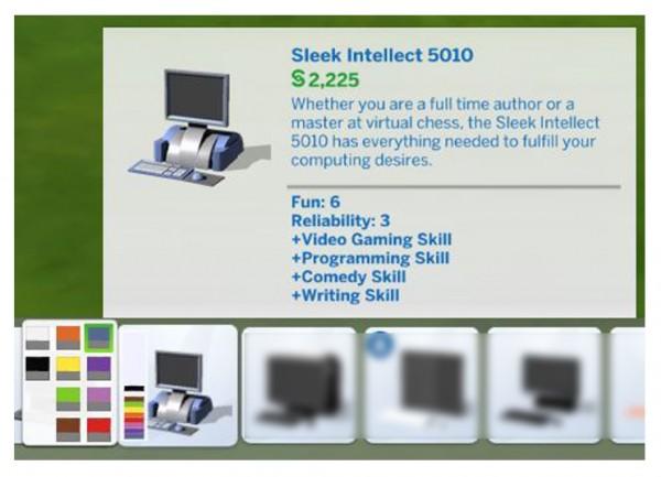 Mod The Sims: Sleek Intellect 5010 PC Conversion by Menaceman44