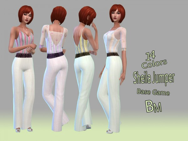The Sims Resource: Sheila Jumper by Bree miles