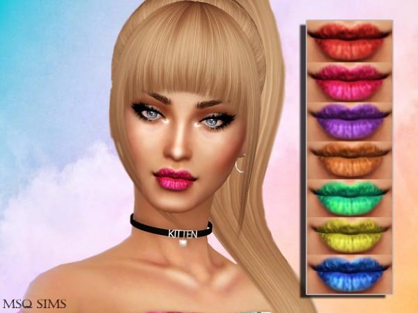 MSQ Sims: Ruby Lipstick
