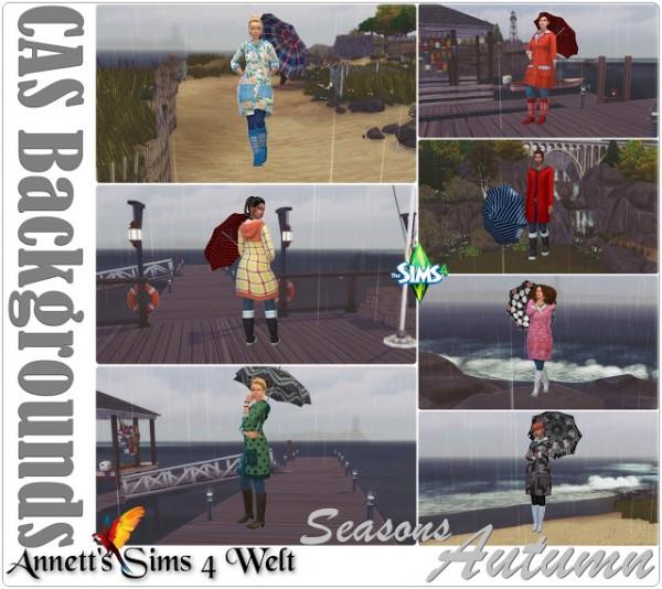 Annett`s Sims 4 Welt: CAS Backgrounds Seasons Autumn