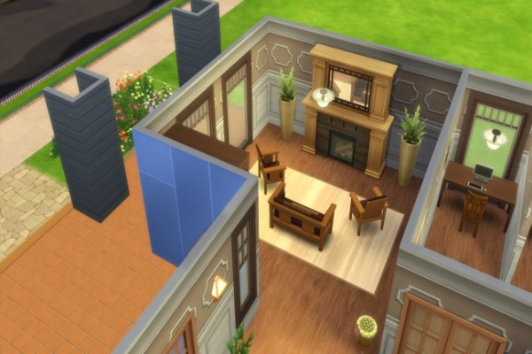 Blackys Sims 4 Zoo: Library by nordine