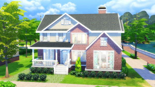 Mod The Sims: Family House   No CC by Chaosking