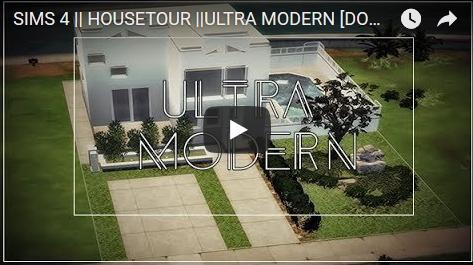 Ideassims4 art: Housetour Ultra Modern