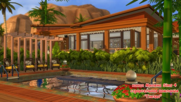Sims 3 by Mulena: Cocktail bar Warm valley