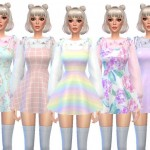 150557cfec4e14 The Sims Resource  T-Shirt with Bralette 02 by Black Lily • Sims 4 ...