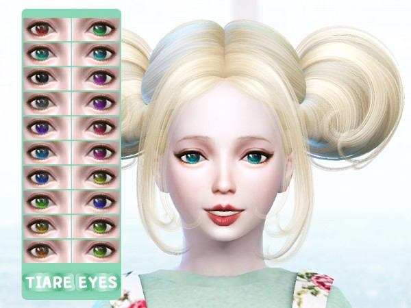 The Sims Resource: Gradation eyes B3 by TIAREHOME