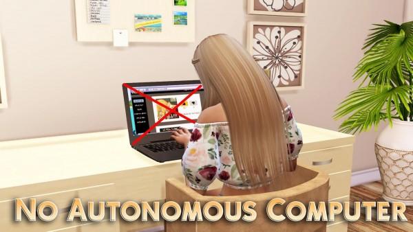 MSQ Sims: No Autonomous Computer