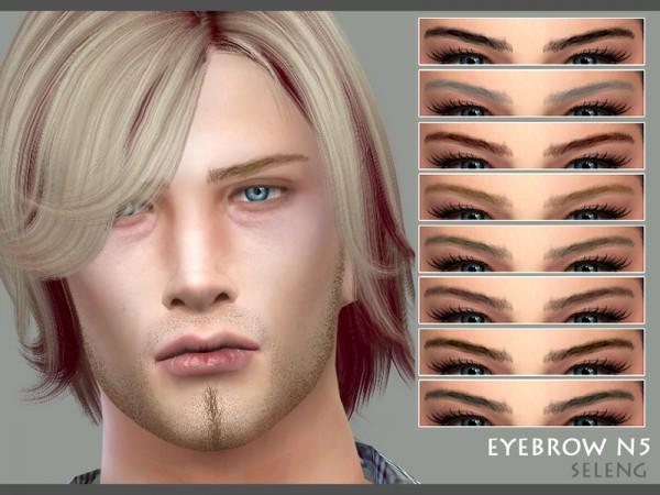 The Sims Resource: Eyebrows N5 by Seleng