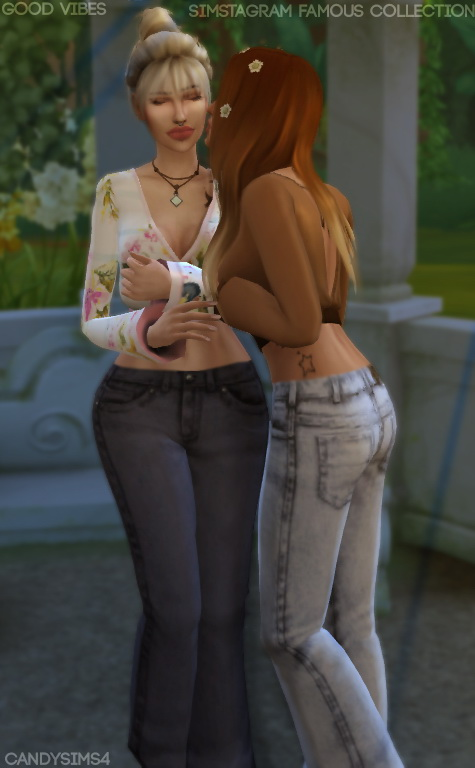 Candy Sims 4: Simstagram Famous Collection