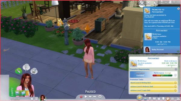 Mod The Sims: Psychologist Career by kittyblue