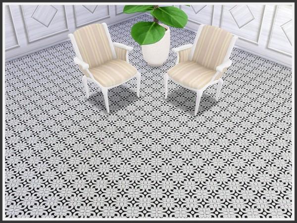 The Sims Resource: Art Nouveau Tile Floors by marcorse