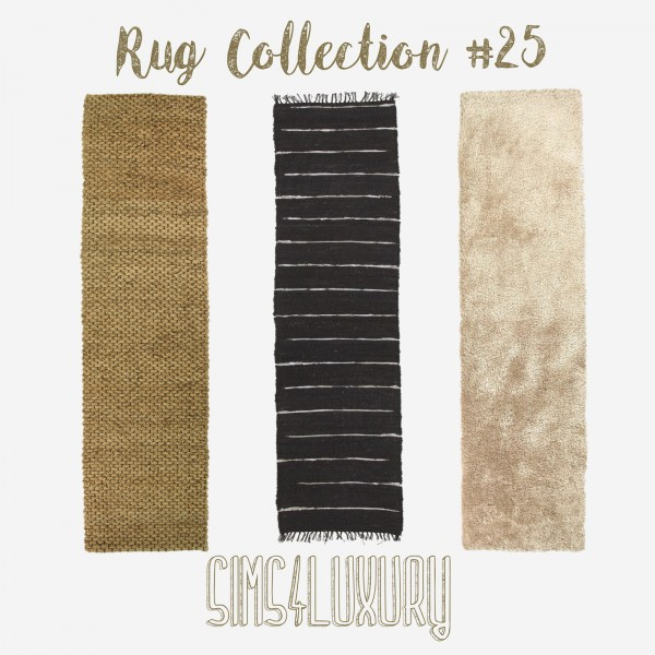 Sims4Luxury: Rug Collection 25