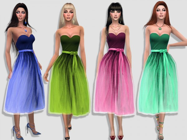 The Sims Resource: The tutu dress by Simalicious