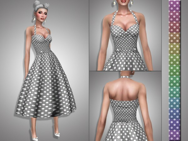 The Sims Resource: Verna dress by Simalicious