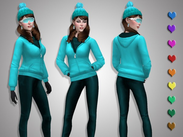 The Sims Resource: Winter sport by Simalicious