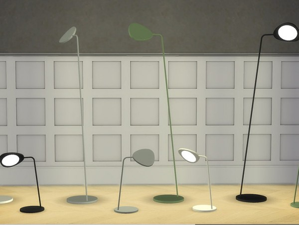 Meinkatz Creations: Leaf lamp collection