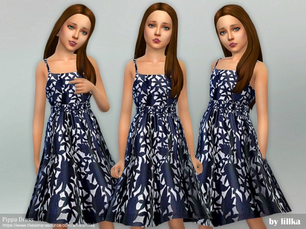 The Sims Resource: Pippa Dress by lillka