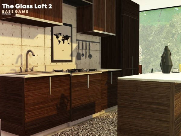 The Sims Resource: The Glass Loft 2 by Pralinesims