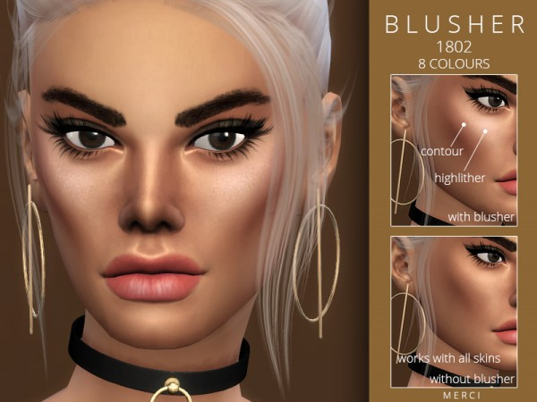 The Sims Resource: Blusher 1802 by Merci