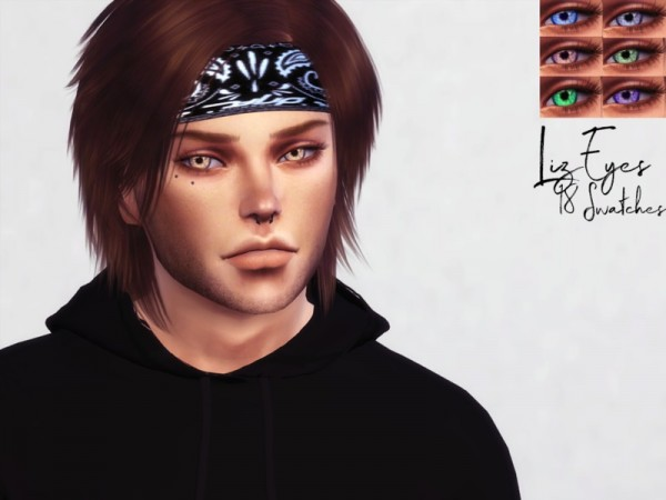 The Sims Resource: Liz Eyes by Reevaly