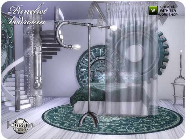 The Sims Resource: Punchet bedroom by jomsims