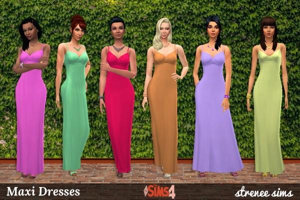 Strenee sims: 21 Maxi Dresses