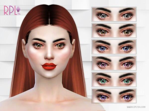 The Sims Resource: Diamond Eyes by RobertaPLobo