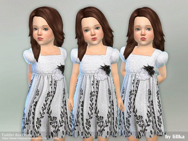 The Sims Resource: Ava Dress by lillka