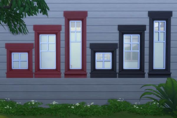 Blackys Sims 4 Zoo: Artic windows 1 by mammut