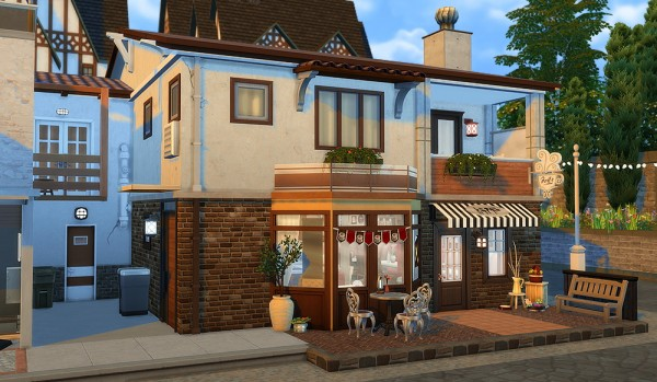 Simsontherope: Café des Brumes