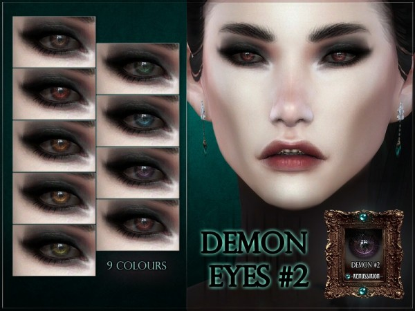 The Sims Resource: Demon Eyes 2 by RemusSirion