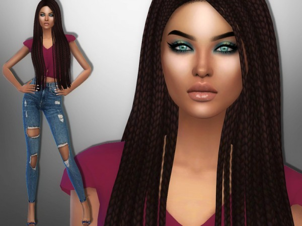The Sims Resource: Virginia Evans by divaka45
