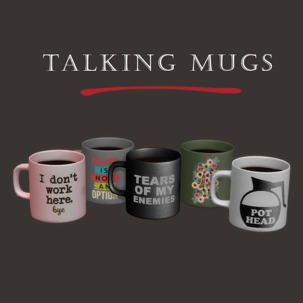 Leo 4 Sims: Talking Mugs