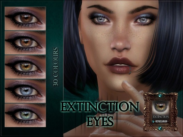 The Sims Resource: Extinction Eyes by RemusSirion