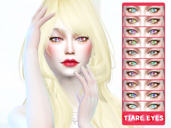 The Sims Resource: Mix Colors Eyes B1 by TIAREHOME