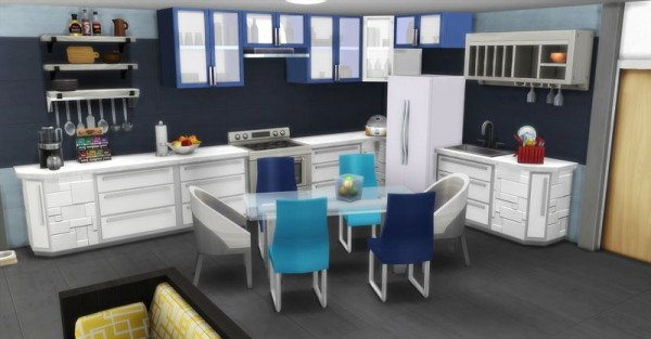 Sims Artists: Apartament Minouchou