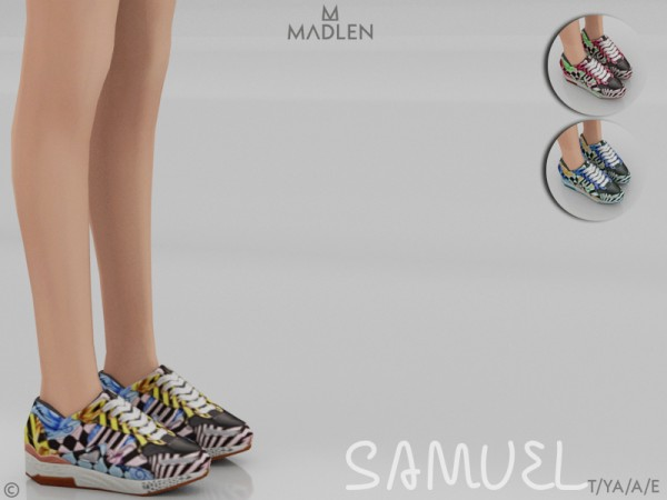 The Sims Resource: Madlen Samuel Shoes by MJ95